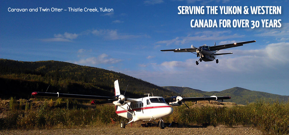 6 Caravan and Twin Otter – Thistle Creek, Yukon