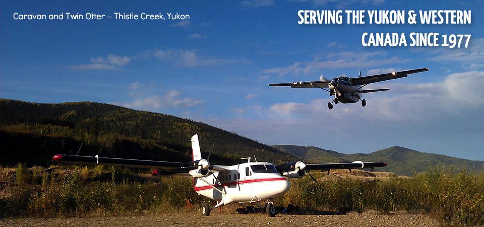 8 Caravan and Twin Otter – Thistle Creek, Yukon