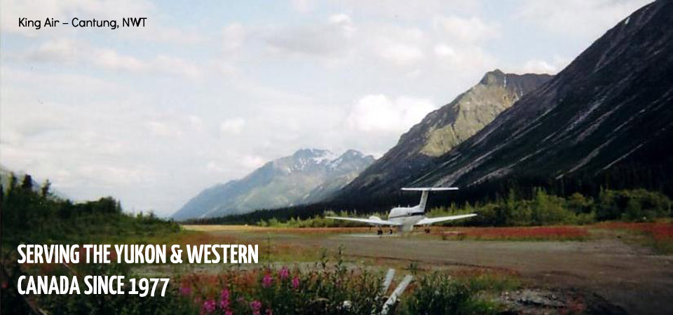 5 King Air – Cantung, NWT