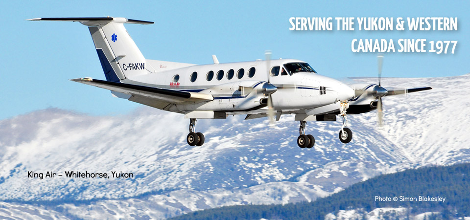 3  – King Air, Whitehorse
